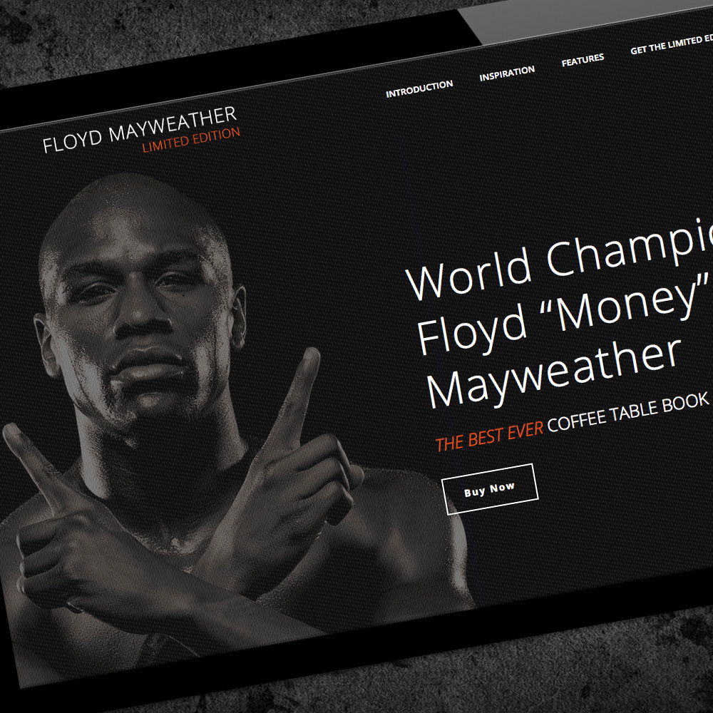 "MAYWEATHER ""THE BEST EVER"" BOOK"